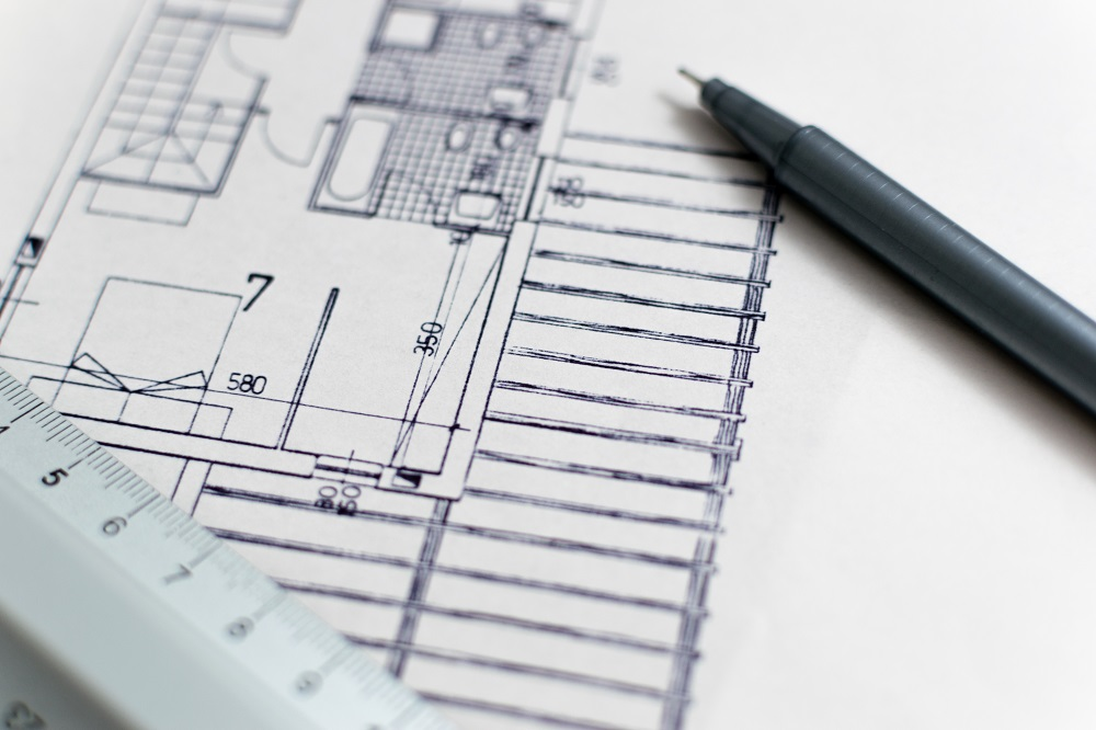 plan maison ossature bois