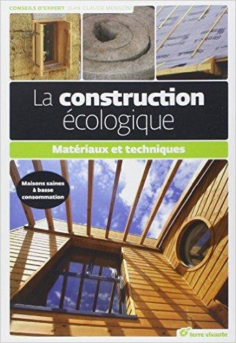 Ossature bois livre construction écologique