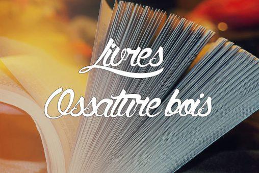 Livres autoconstruction maison ossature bois