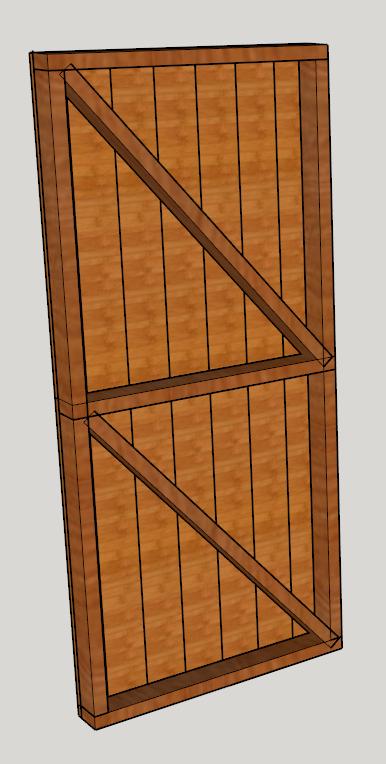 Abri de jardin en bois : nos plans 3D | Comme un pingouin dans le désert