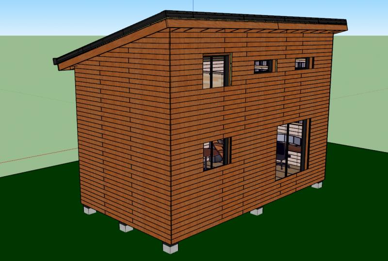 murs en ossature bois plans mob comme un pingouin dans. Black Bedroom Furniture Sets. Home Design Ideas