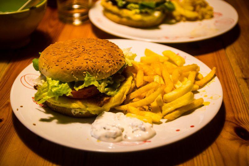 burger végétarien recette