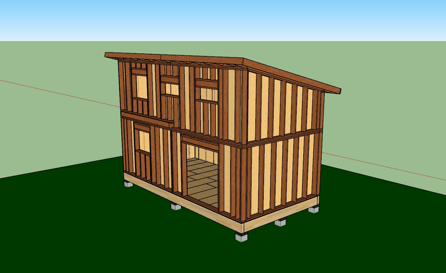 6 raisons de construire une maison en ossature bois for Bois ossature