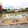 budget pour les fondations en autoconstruction