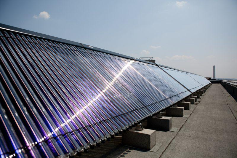 Panneaux solaires eau chaude sanitaire