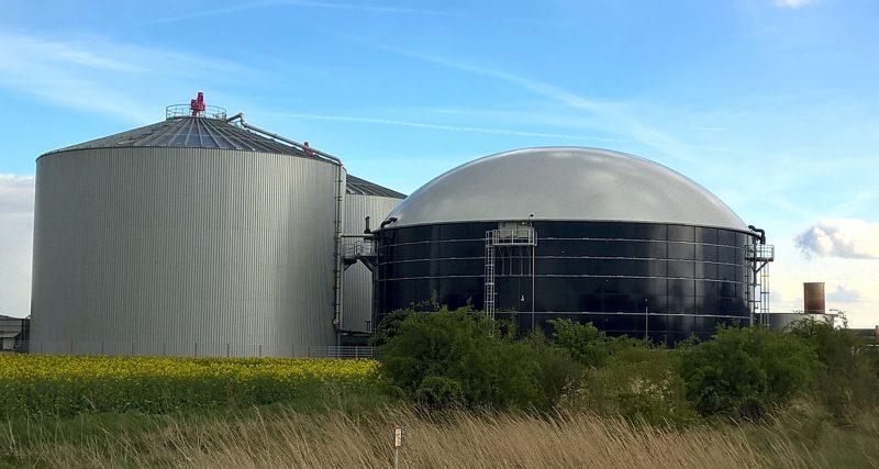 Système de récupération du biogaz / méthanisation