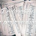 Déclaration de performances