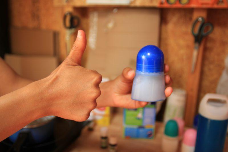 Le déodorant DIY est prêt !