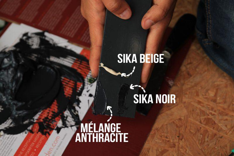 mélange sikaflex anthracite