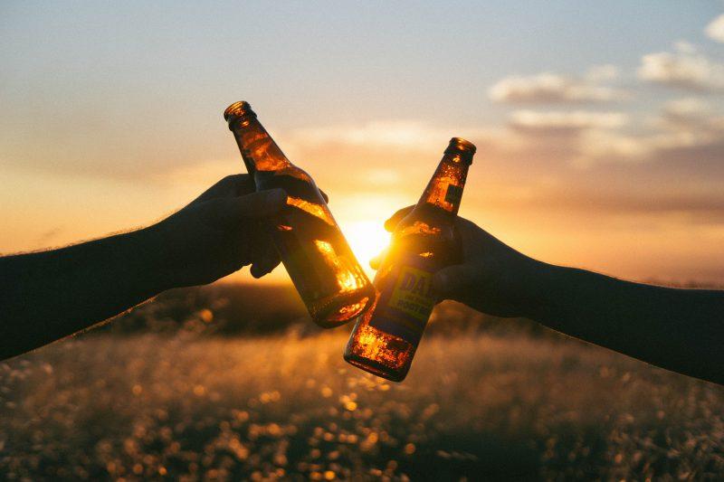 Bière avec les amis