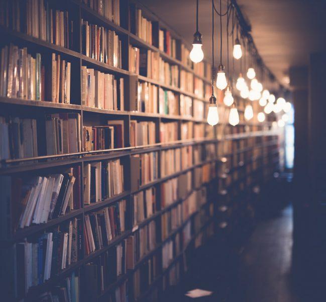 Petite maison mais grande bibliothèque