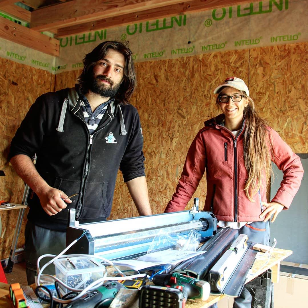 Coffrage Bois Volet Roulant poser des volets roulants sur une maison en bois de façon