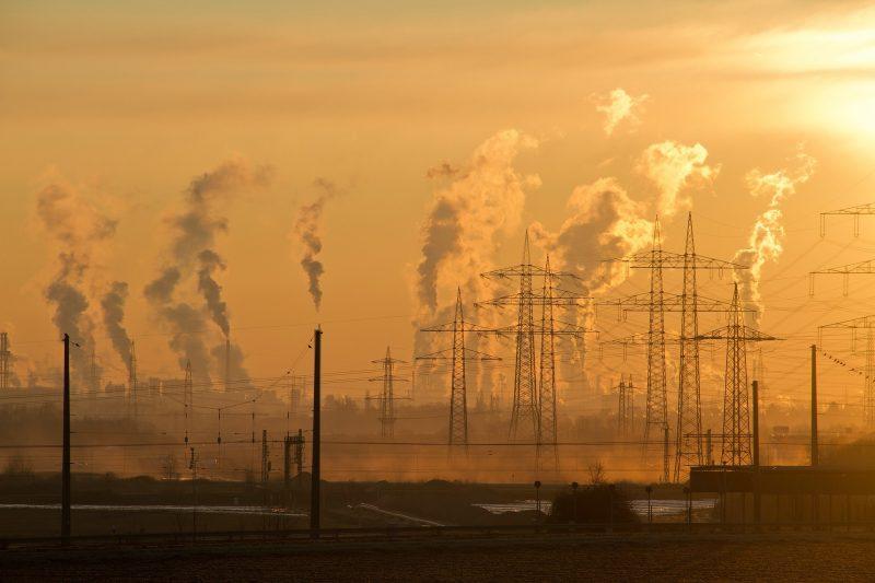 La production d'énergie est polluante