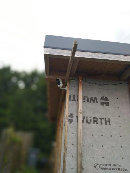 caméra de surveillance pour chantier