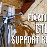 Fixer la GTL sur un support en bois OSB