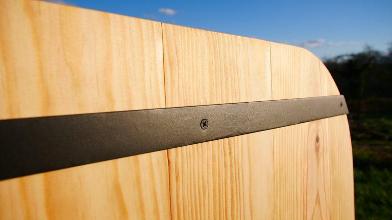 Lit de cododo en bois sans colle