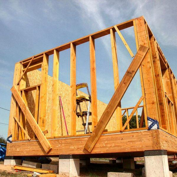 Construction ossature bois maison en bois