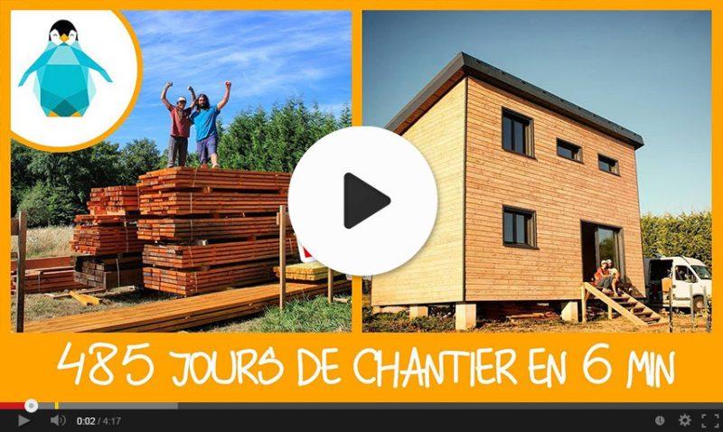 Vidéo timelapse autoconstruction en bois