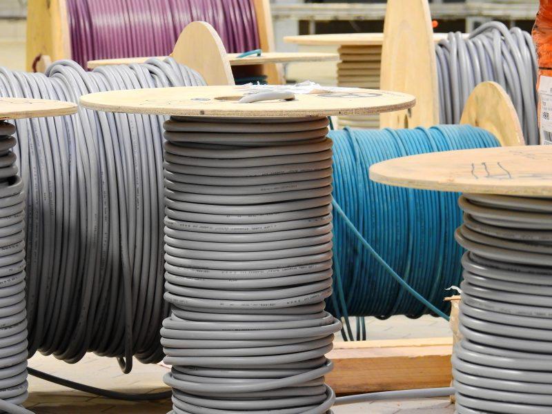 Rouleau câble réseau pour réseau VDI