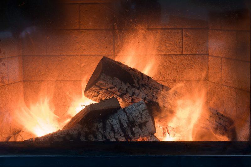 Chauffage au feu de bois