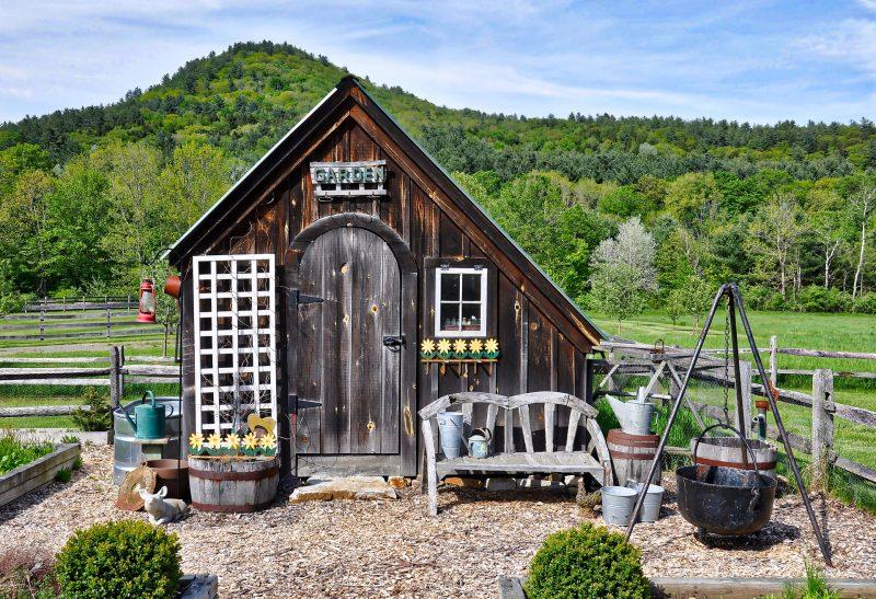 Abri de jardin comme habitation