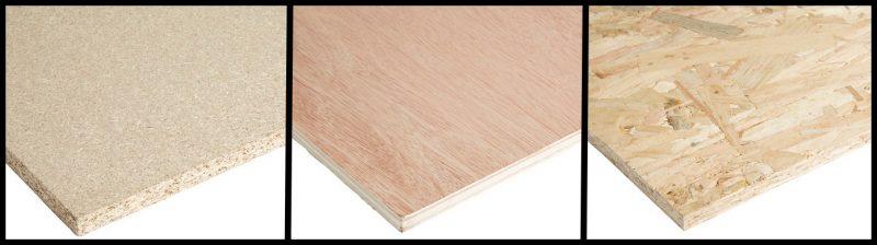 Les différents types de bois