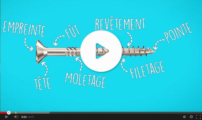 Vidéo sur les vis techniques