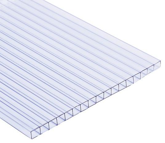 Plaque de polycarbonate alvéolée