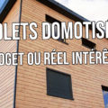 Volets roulants domotique