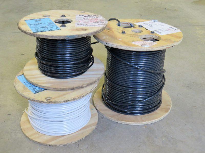 Touret de câble pour raccordement définitif