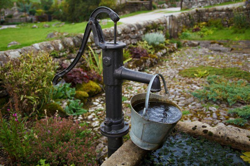 Pompe puits manuelle