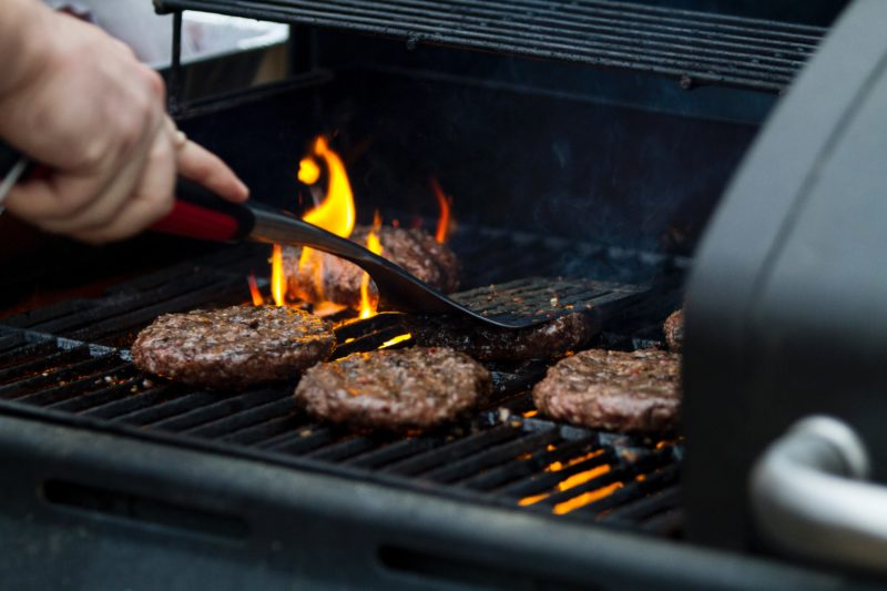 Barbecue non vegan