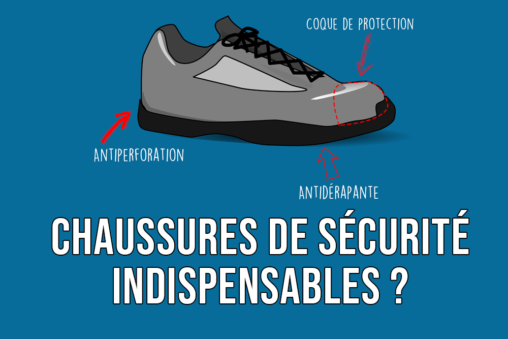 Chaussures de sécurité indispensables ?