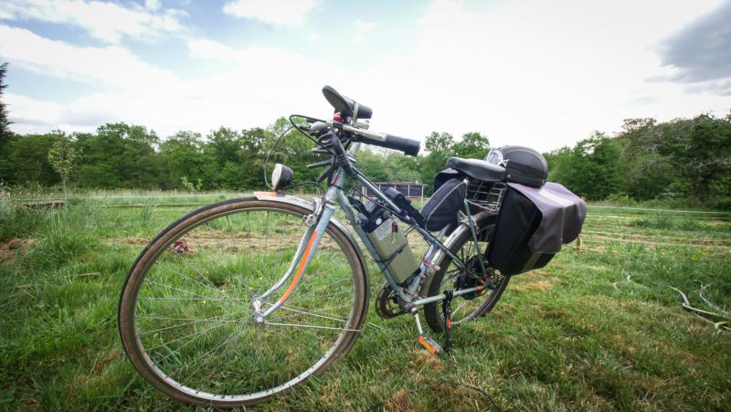 Notre vélo transformé en électrique