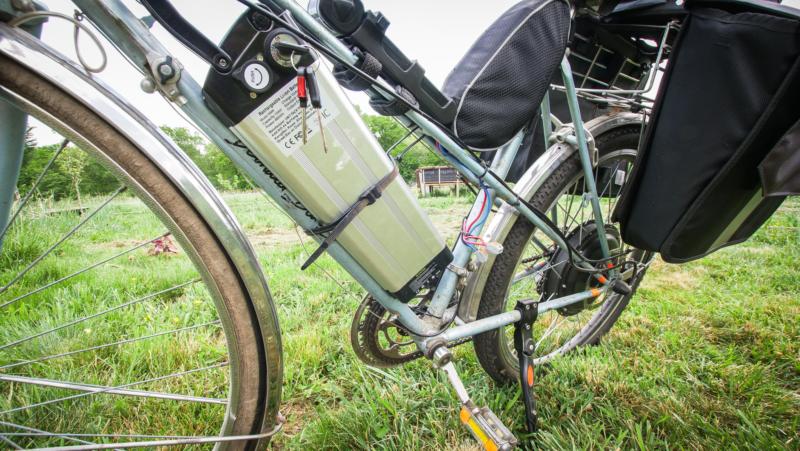Branchement et installation vélo électrique