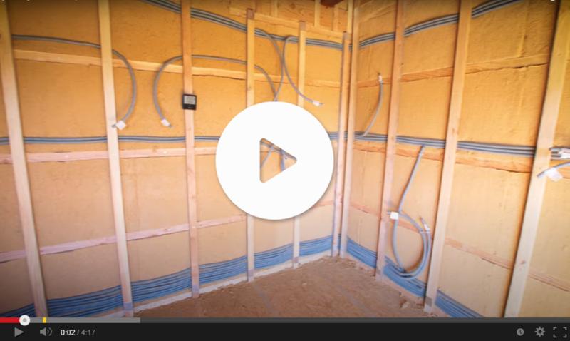 Vidéo sur le passage des gaines électriques
