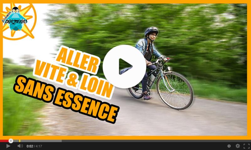 Vidéo utilisation vélo électrique