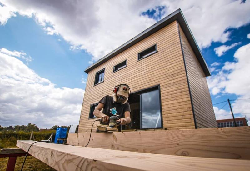 Construction de notre maison en bois