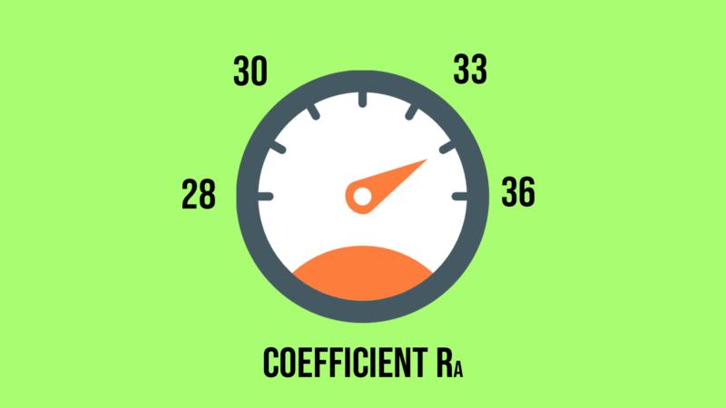 Coefficient acoustique et d'isolation phonique d'une porte