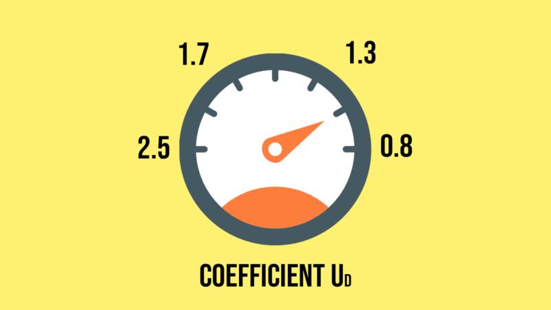 Coefficient d'isolation thermique d'une porte d'entrée