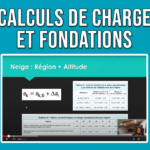 Comment calculer descente de charges fondations