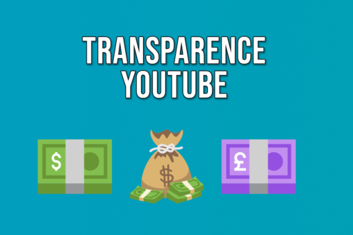 Transparence Youtube