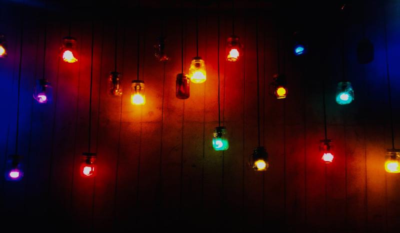 Lampe décorative guinguette