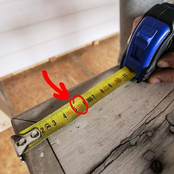 Usure du mètre et des outils